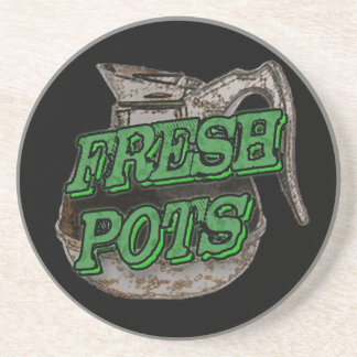 Fresh Pots Coaster