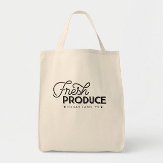 Fresh Produce Local Grocery Tote
