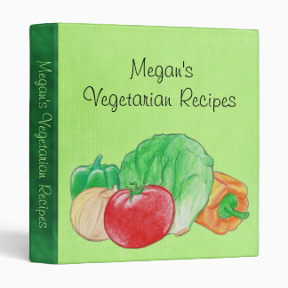 Fresh Produce Vegetables Binder