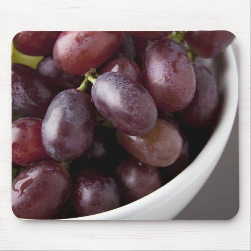 Fresh Red Grapes Mouse Pad
