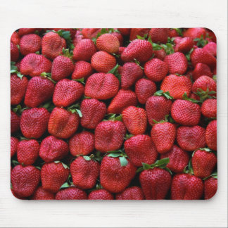 Fresh Red Strawberries Mouse Pad