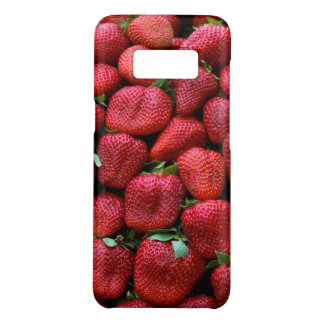 Fresh Red Strawberries Photo Print Case-Mate Samsung Galaxy S8 Case