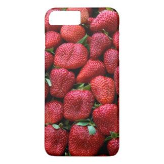 Fresh Red Strawberries Photo Print iPhone 8 Plus/7 Plus Case