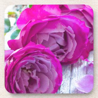 fresh roses coaster