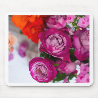 fresh roses mouse pad