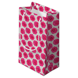 fresh roses small gift bag