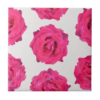 fresh roses tile