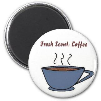 Fresh Scent: Coffee 2 Inch Round Magnet