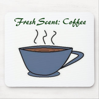 Fresh Scent: Coffee Mouse Pad