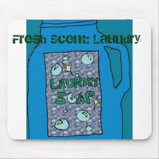 Fresh Scent: Laundry Mouse Pad
