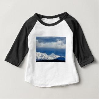 Fresh snow on the Kamnik Alps Baby T-Shirt