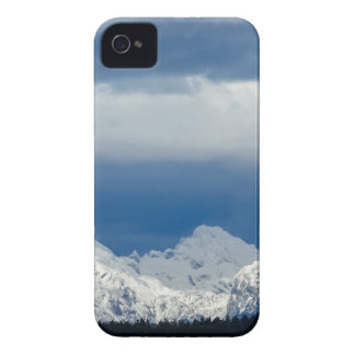 Fresh snow on the Kamnik Alps Case-Mate iPhone 4 Case