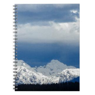 Fresh snow on the Kamnik Alps Notebooks