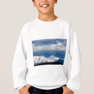 Fresh snow on the Kamnik Alps Sweatshirt