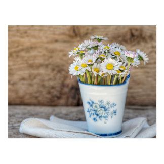 Fresh Spring Flowers Postcard