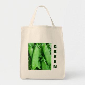 Fresh Spring Peas Tote Bag