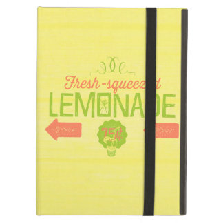 Fresh Squeezed Lemonade iPad Air Cover