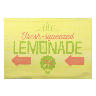 Fresh Squeezed Lemonade Placemat