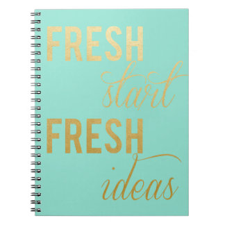 Fresh Start Notebook