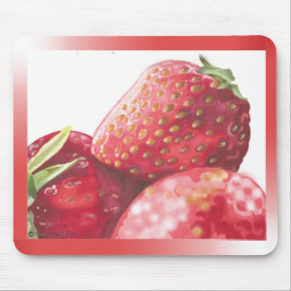 Fresh Strawberries Mouse Pad