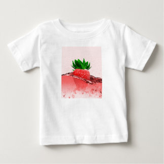 Fresh strawberry juice baby T-Shirt