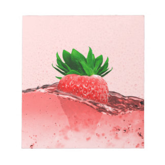 Fresh Strawberry Notepads