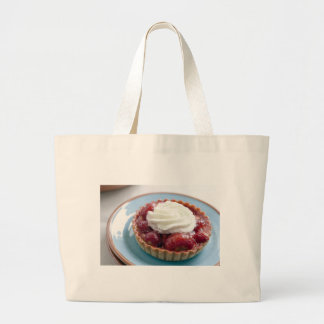 Fresh Strawberry Tart Cloth Shopping Bag