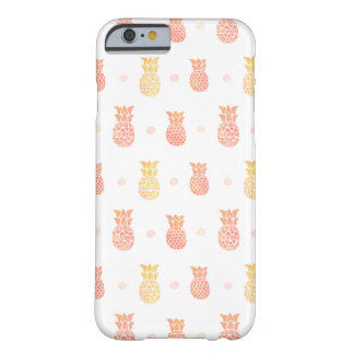 Fresh Summer Pineapple Barely There iPhone 6 Case