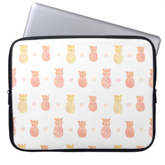Fresh Summer Pineapple Laptop Sleeve