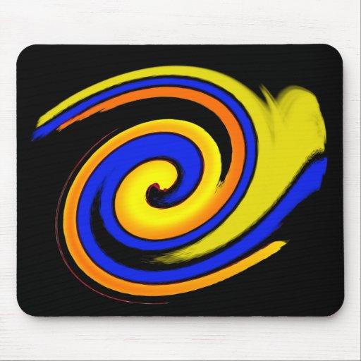 fresh swirl mousemat