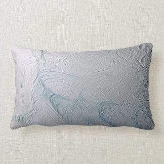 Fresh Tiger Stripes on Enceladus Lumbar Pillow