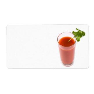 Fresh tomato juice cocktail