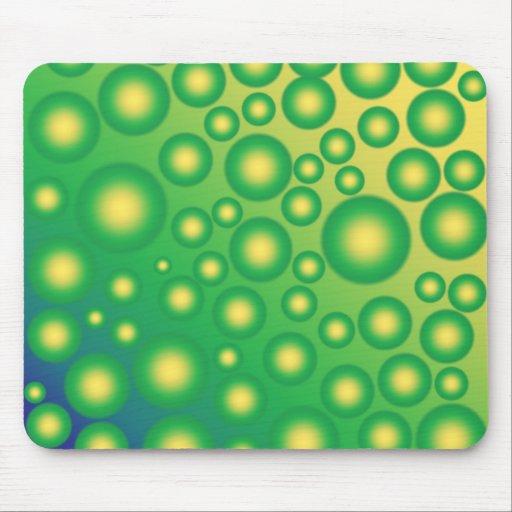 Fresh tropical bubbles mouse pad