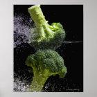 Fresh Vegetables & Food Hygiene Poster