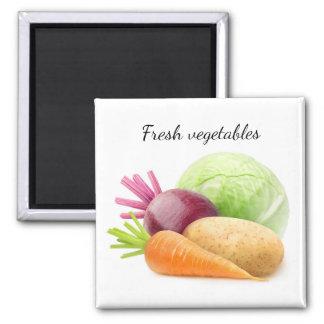 Fresh vegetables magnet