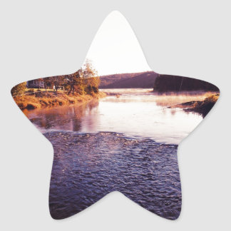 Fresh Winter Morning Star Sticker
