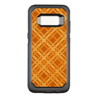 Fresh Yellow and Orange Plaid OtterBox Commuter Samsung Galaxy S8 Case