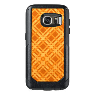 Fresh Yellow and Orange Plaid OtterBox Samsung Galaxy S7 Case