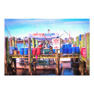 Freshest Seafood Photo Print
