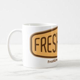 FreshGround White Coffee Mug
