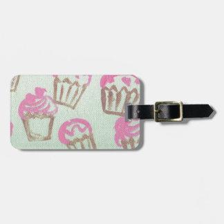 freshky baked luggage tag
