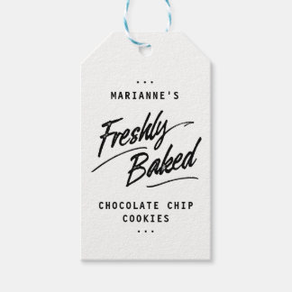Freshly Baked Personalized Label Gift Tags