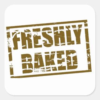 Freshly Baked Square Sticker