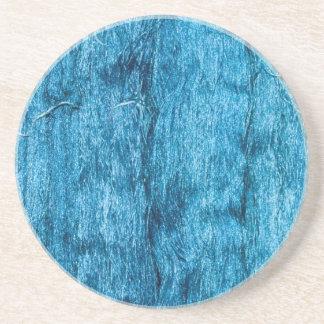 Freshly Dyed Blue Handmade Thai Silk Coaster