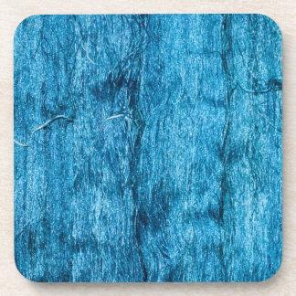 Freshly Dyed Blue Handmade Thai Silk Drink Coaster