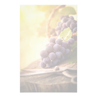 Freshly Harvested Grapes Stationery