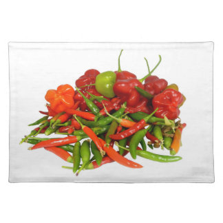 Freshly Picked Chillies Placemats