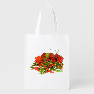 Freshly Picked Chillies Reusable Bag