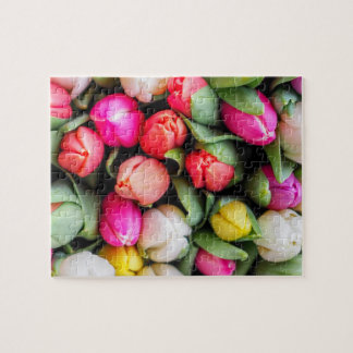 Freshly Picked Tulips Jigsaw Puzzle