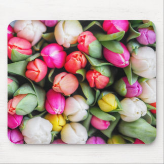 Freshly Picked Tulips Mouse Pad